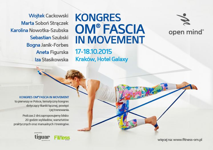 Kongres OM® FASCIA IN MOVEMENT